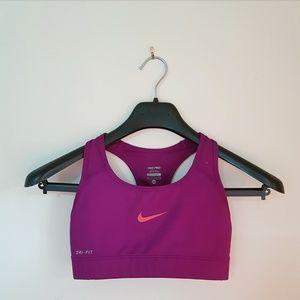 Nike Pro Sports Bra in EUC XS